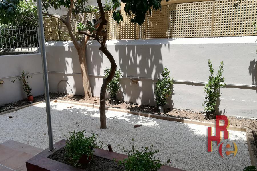 Ανακαινισμένο διαμέρισμα με κήπο στην Κυψέλη