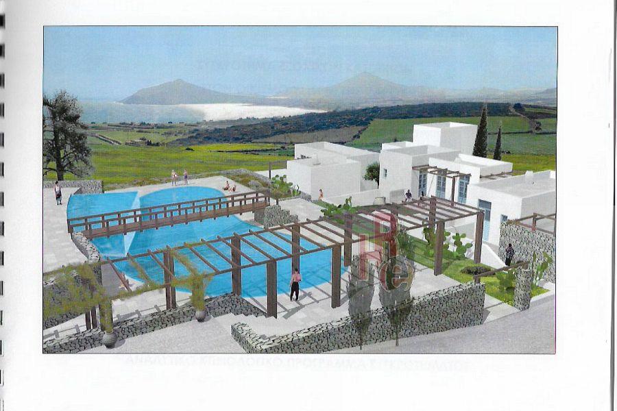 Οικόπεδο με μελέτη για την κατασκευή κατοικίων, Υστέρνι, Πάρος