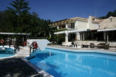 Apartments resort in the idyllic Paxos Island.